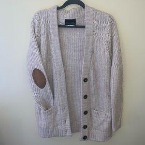 Zara chunky knit cardigan sweater